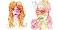 Ella consume LSD y luego comienza a dibujar autorretratos. ¿El resultado? Pruébalo bajo tu propio riesgo…