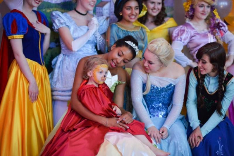 princesas con lila