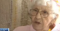 VIDEO: El último deseo de esta mujer de 94 años era un espacio en TV para decir tres palabras