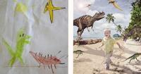 Un fotógrafo ayuda a hacer realidad los maravillosos sueños que dibujan niños enfermos