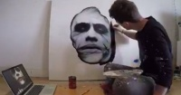 VIDEO: Este artista pintando a The Joker te dejará sin aliento