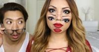 Aprende a hacer el efecto de maquillaje más perturbador que verás este Halloween