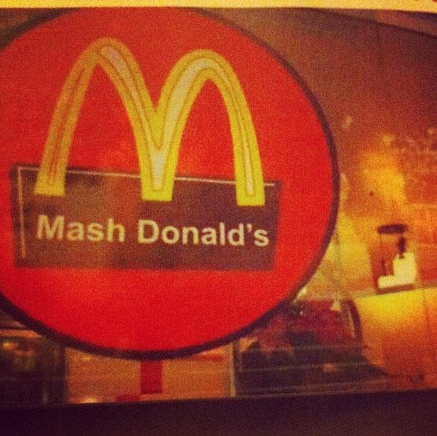 mash donalds