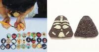 Esta artista hace hermosos diseños sólo usando galletas Oreo