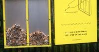 La genial idea para que la gente deje de botar sus colillas de cigarrillos en la calle