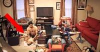 VIDEO: Cámara escondida graba lo que hace este padre con su pequeño hijo mientras su mamá no está