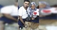 Esta familia no quiso dejar a su amado perro en Siria y escapó de la guerra con él