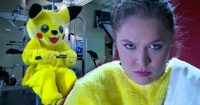 VIDEO: Ronda Rousey entrenando con un disfraz de Pikachu es lo más gracioso que verás esta semana