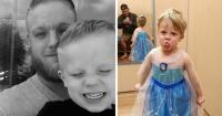 Este niño quería ser Elsa este Halloween. La respuesta de su padre te conmoverá.