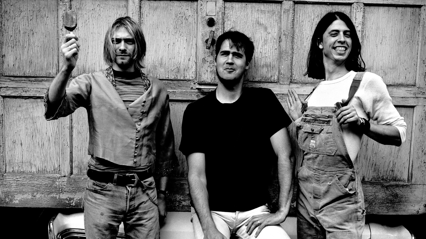 Nirvana in 1993 (from left): Kurt Cobain, Krist Novoselic, Dave Grohl.