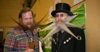300 barbudos compitieron por ser la mejor barba del mundo. Sus diseños te harán reír.
