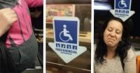 VIDEO: Tiene 8 meses de embarazada y nadie le da el asiento en el tren