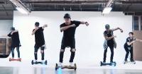 VIDEO: Mira esta alucinante coreografía de 'What Do You Mean' sobre segways