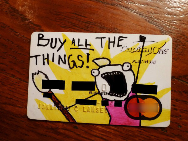 Compra todas las cosas