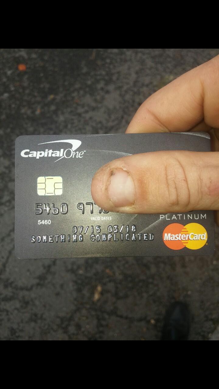 Tarjeta de crédito del usuario bloqueado en Facebook