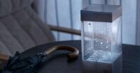 Esta 'caja de lluvia' simula el tiempo de cualquier lugar del mundo