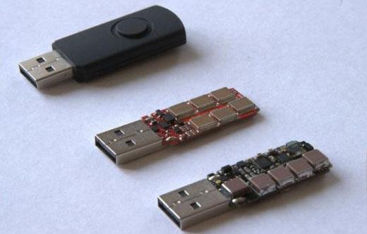 Este es el USB Killer por dentro