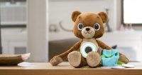 Este oso de peluche ayuda a los niños diabéticos a lidiar con su enfermedad