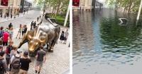 Así quedarían bajo el agua las grandes ciudades por culpa del cambio climático