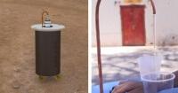 Esta pequeña máquina transforma el aire en agua potable y es el gran invento del futuro