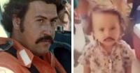 VIDEO: Disfrazan de Pablo Escobar a un niño para Halloween y todo Internet lo critica