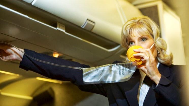 Resultado de imagen para mascara oxigeno avion