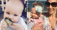 Esta bebé nunca ha consumido azúcar… y estos son los efectos