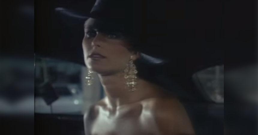 Christie Brinkley en el video Uptown Girl de Billy Joel