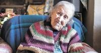 Esta mujer tiene 116 años y este es su secreto para una vida sana y feliz