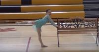Perdió su pierna en un accidente y conmovió a todos con su sueño de poder bailar