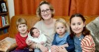 El extraño récord que rompió esta mamá y sus hijos que desafía a la ciencia