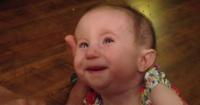 Les dijeron que su hija viviría solamente un mes y ocurrió el milagro. Hoy tiene casi un año.