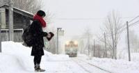 Esta estación de trenes sigue funcionando sólo para que una chica vaya a la escuela