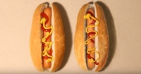Uno de estos hot dog es un dibujo: ¿puedes adivinar cuál?