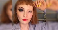 Recibió crueles comentarios por querer mostrar su habilidad y pasión por el maquillaje