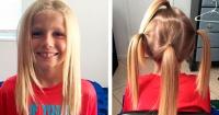 Le dijeron niñita por tener el pelo largo y no sabían que él donaba su cabello para niños con cáncer