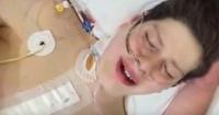 Fue por un resfrío al hospital, terminó con un transplante y así reaccionó al despertar de la cirugía