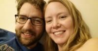 Este hombre compartió una foto de su novia exhausta por una hermosa razón