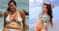 Esta mujer bajó más de 30 kilos y le valió que su marido de pidiera el divorcio