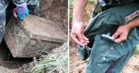 Detectores de metales excavaron una rara caja fuerte y lo que encontraron es ¡INCREÍBLE!