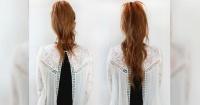 """VIDEO: Este sencillo truco te permite """"alargar"""" tu cabello en solo dos minutos"""
