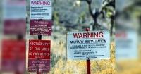 """Así luce la ultrasecreta """"Área 51″ filmada desde desde el aire con un dron"""