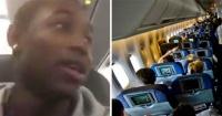 Lo insultaron en un avión y grabó a su agresora. Ahora pide que ella no sea agredida.