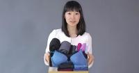 Esta japonesa creó la técnica para doblar ropa que te cambiará la vida