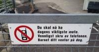 El letrero de una guardería en Noruega del que todos los padres hablan