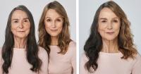 Experimento fotográfico: La demostración de que estas hijas son réplica de sus madres