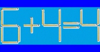 Reto a tu inteligencia: Corrige la operación matemática moviendo sólo un palito