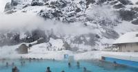 De esta montaña aparecen cuatro millones de litros de agua caliente al día