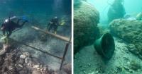 Encontraron un barco hundido hace más 500 años y estos son los tesoros tenía dentro