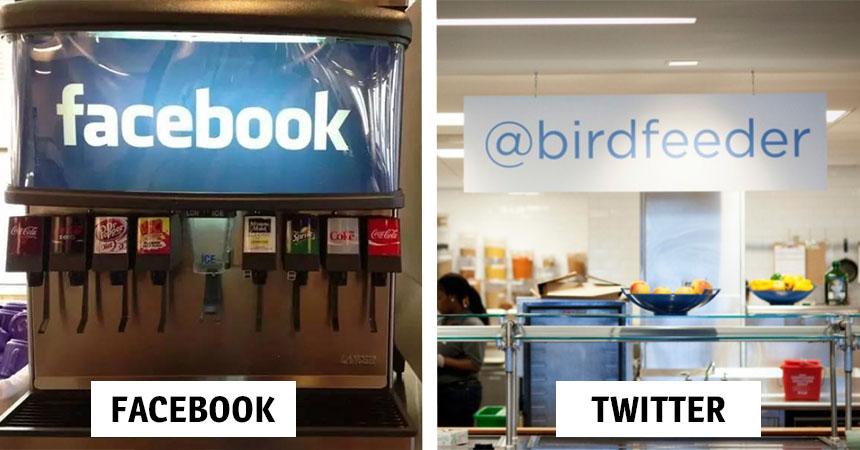 Así lucen los comedores de las empresas de Internet más grandes del ...